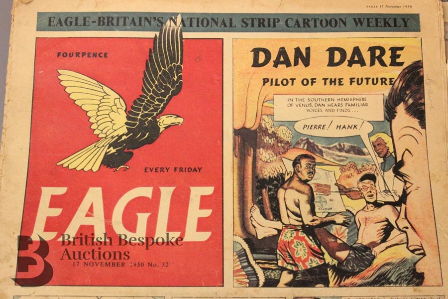 180 Eagle Comics 1950-1966 - Image 3 of 5