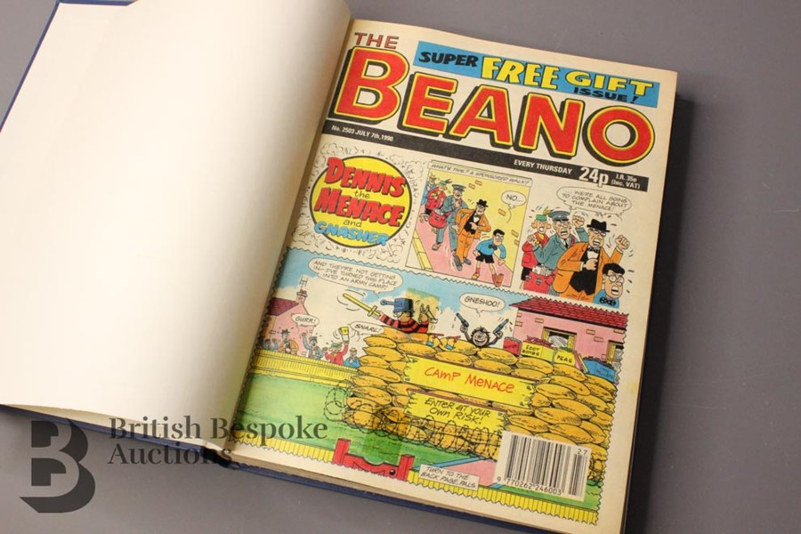 1990 Beano Bound Comics - Image 2 of 4