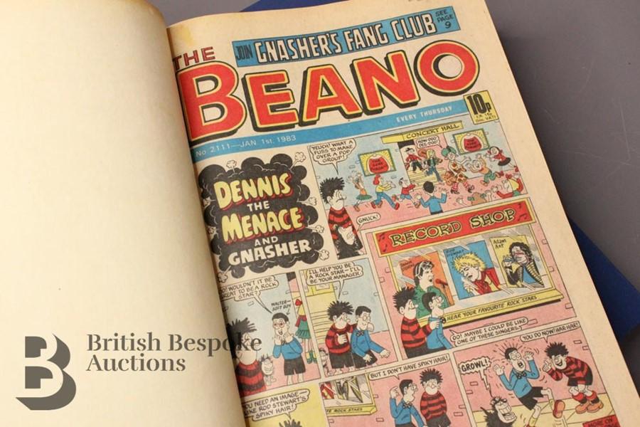 1983 Beano Bound Comics - Image 2 of 3