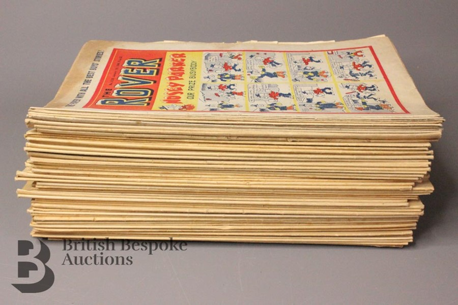 Fifty Eight Rover/Rovers Adventure Comics 1946-61 - Image 3 of 4