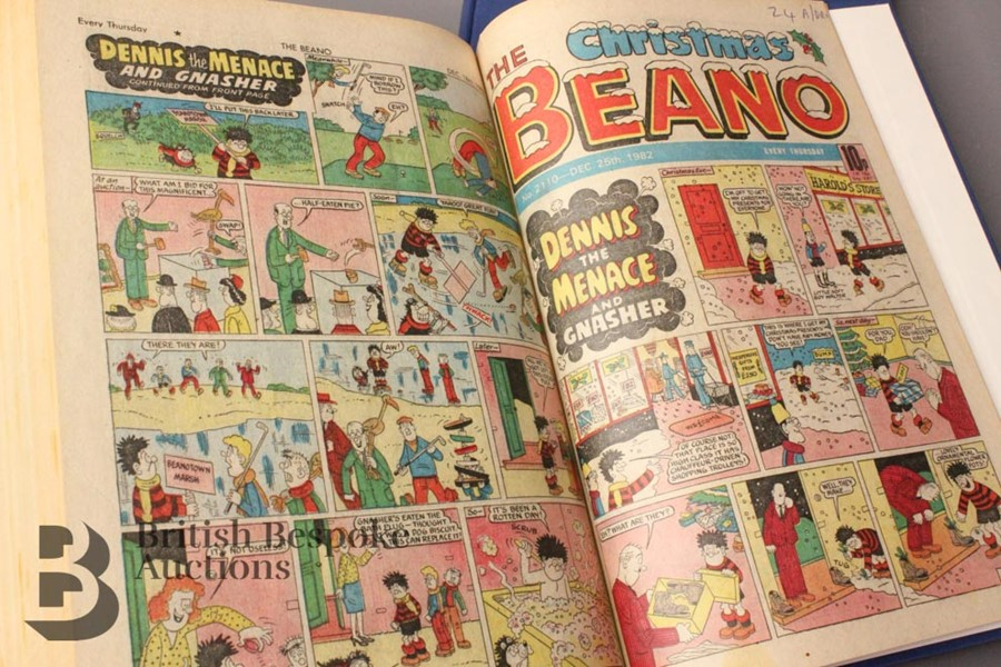 1982 Beano Bound Comics - Image 4 of 4