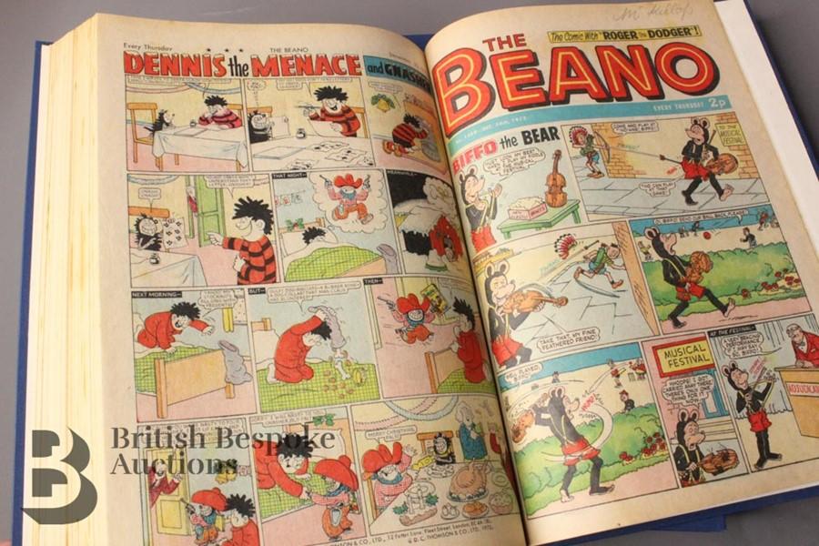 1972 Beano Bound Comics - Image 4 of 7