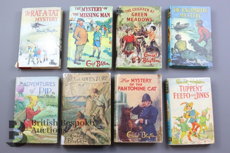Approx. 100 Enid Blyton Reprints in Dust Wrappers - Image 2 of 10