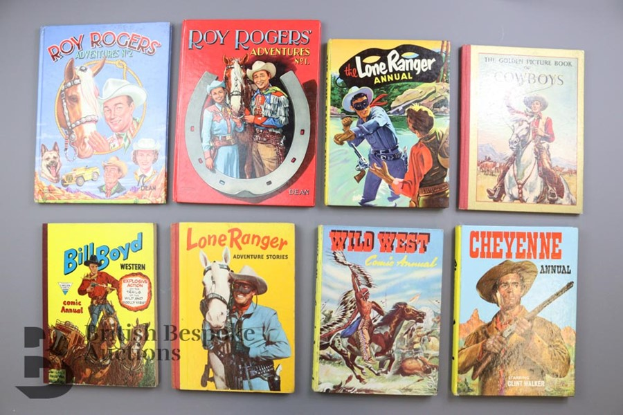 Approx. 56 Vintage Cowboy Books and Annuals - Image 3 of 5