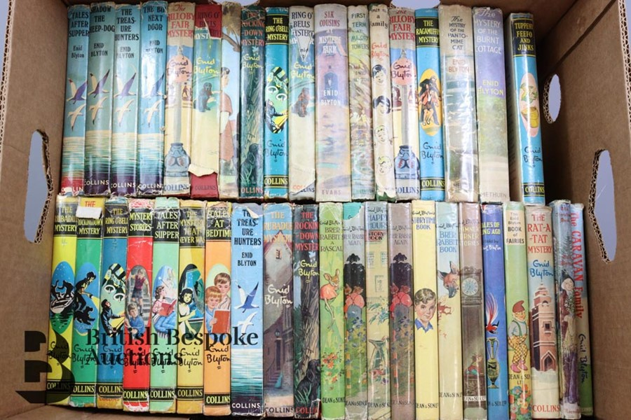 Approx. 100 Enid Blyton Reprints in Dust Wrappers - Image 9 of 10