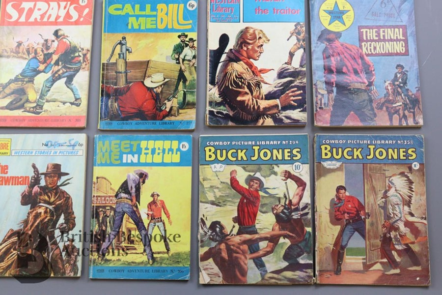 Approx. 65 Vintage Western Comic Books from 1940 and 1950 - Image 6 of 8