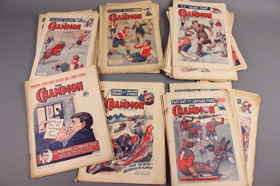 21 Champion Annuals and 57 Champion Comics 1925 - 1968 - Image 5 of 5