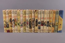 20 Famous Five Enid Blyton Reprints in Dust Wrappers