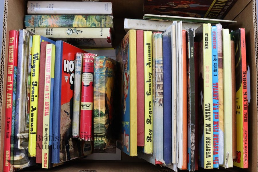 Approx. 50 Vintage Cowboy Books and Annuals - Image 4 of 5