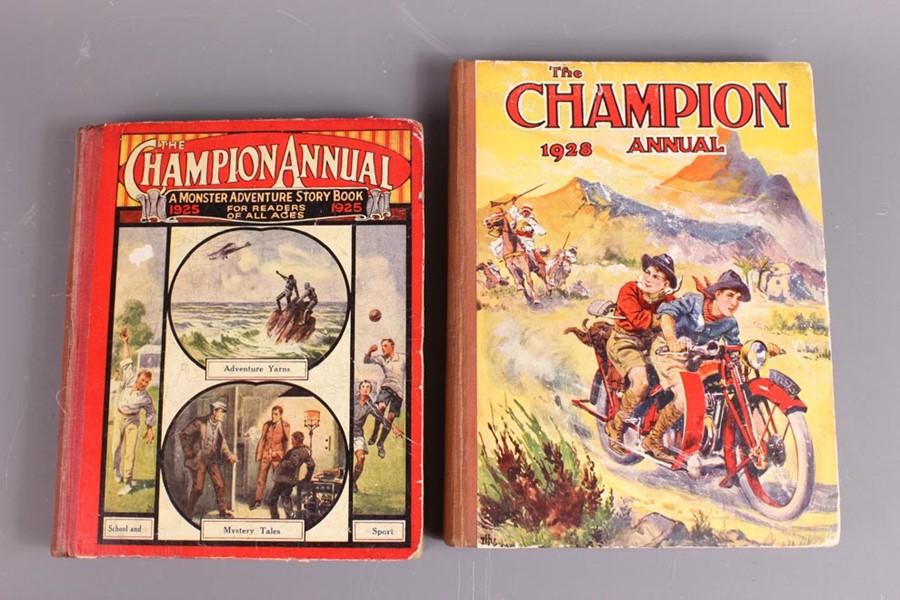 21 Champion Annuals and 57 Champion Comics 1925 - 1968 - Image 2 of 5