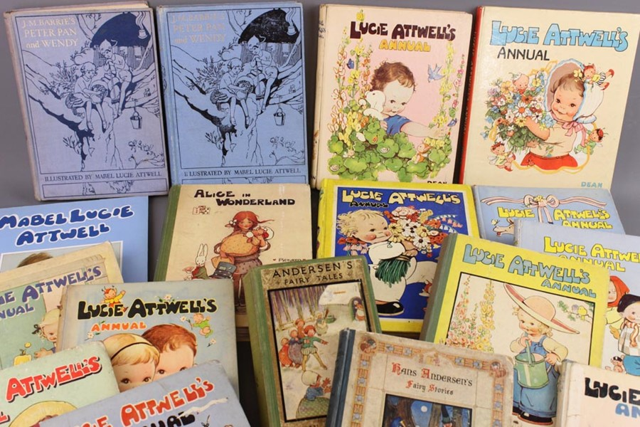 17 Mabel Lucie Attwell Annuals from 1936 and Books - Image 2 of 18