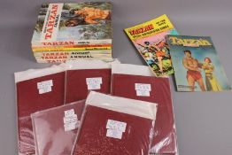 Bound Tarzan Comics from 1951 and 1953
