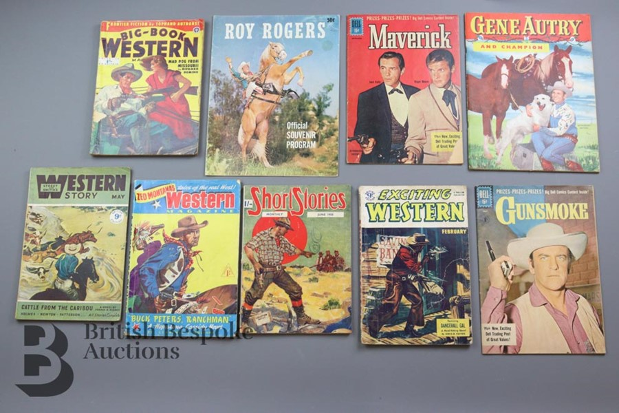 Approx. 65 Vintage Western Comic Books from 1940 and 1950