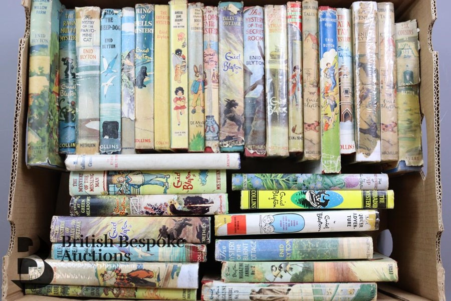 Approx. 100 Enid Blyton Reprints in Dust Wrappers - Image 10 of 10