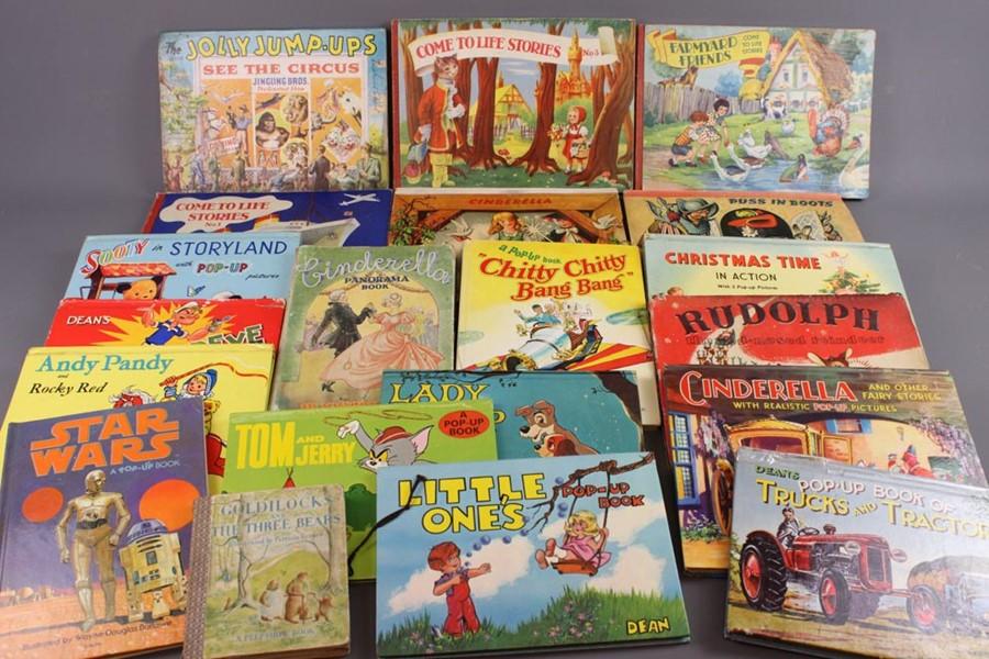 Approx. 65 Vintage Pop-Up Children's Books