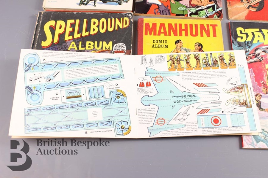 The Green Hornet Colouring Book, Woodbine Space Ship Cut Out and Other Comic Albums - Image 2 of 5