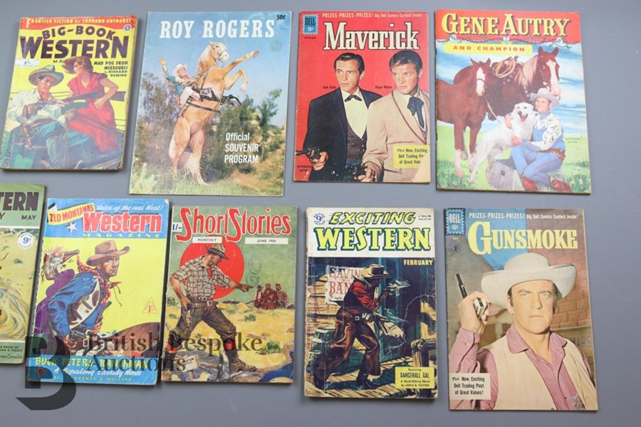 Approx. 65 Vintage Western Comic Books from 1940 and 1950 - Image 3 of 8
