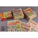 Approx. 90 Buster Comics Including No 1 1960 and 1980-84