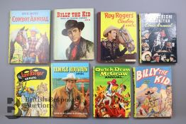 Approx. 50 Vintage Cowboy Books and Annuals