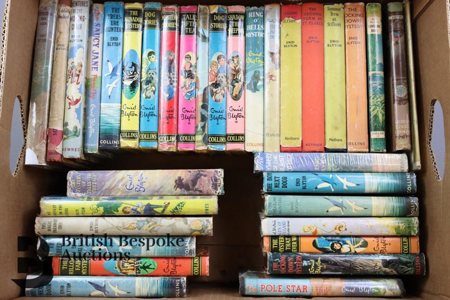 Approx. 100 Enid Blyton Reprints in Dust Wrappers - Image 8 of 10
