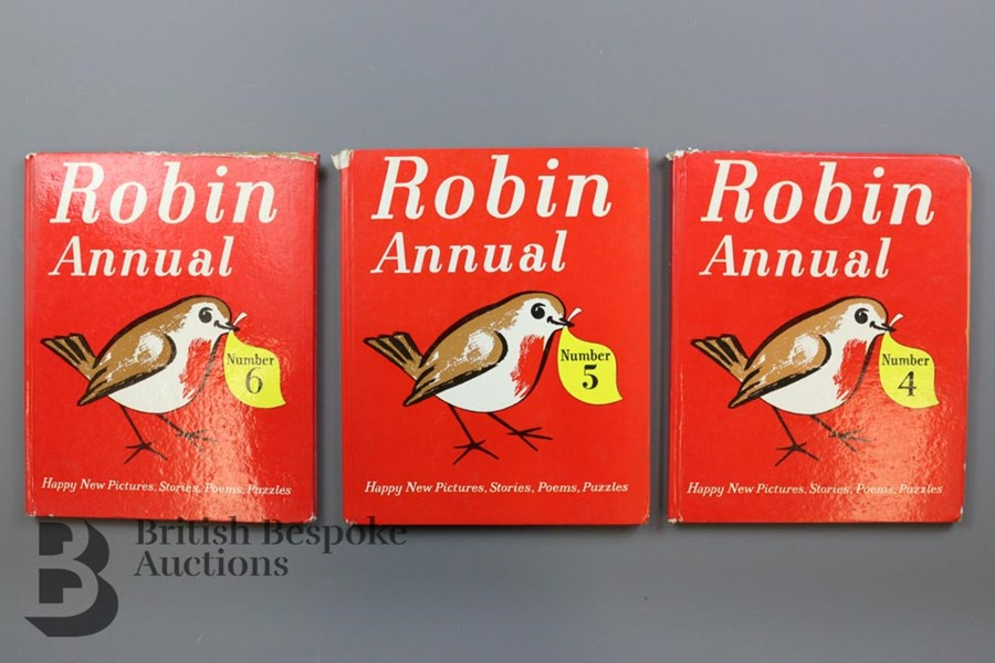 Over 50 Robin Comics and Annuals from 1950s and 1960s - Image 2 of 3