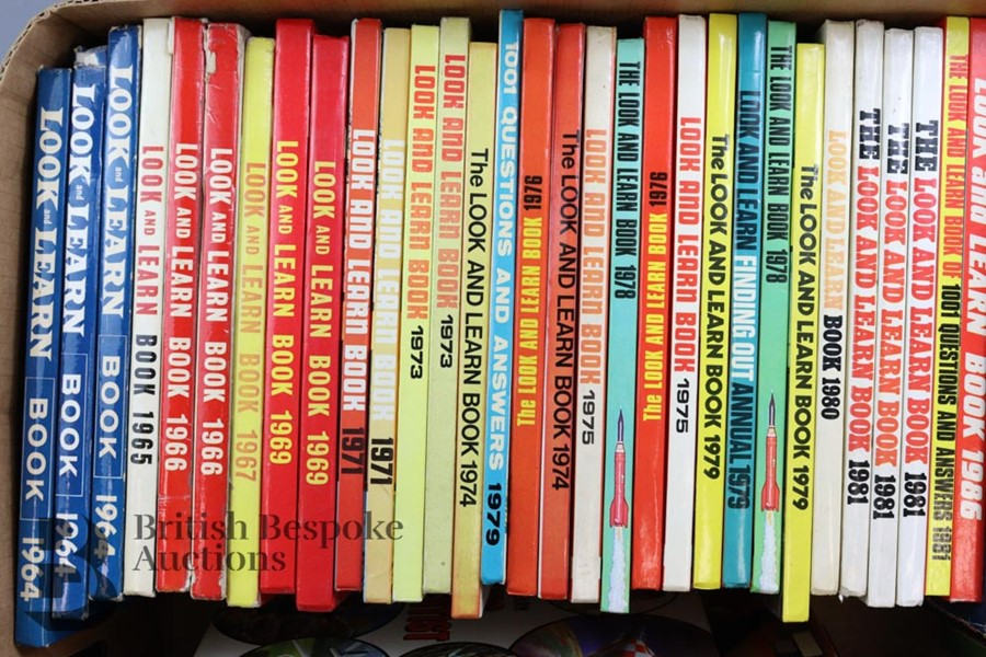 42 Look and Learn Annuals and Books from 1964 Onwards - Image 3 of 3