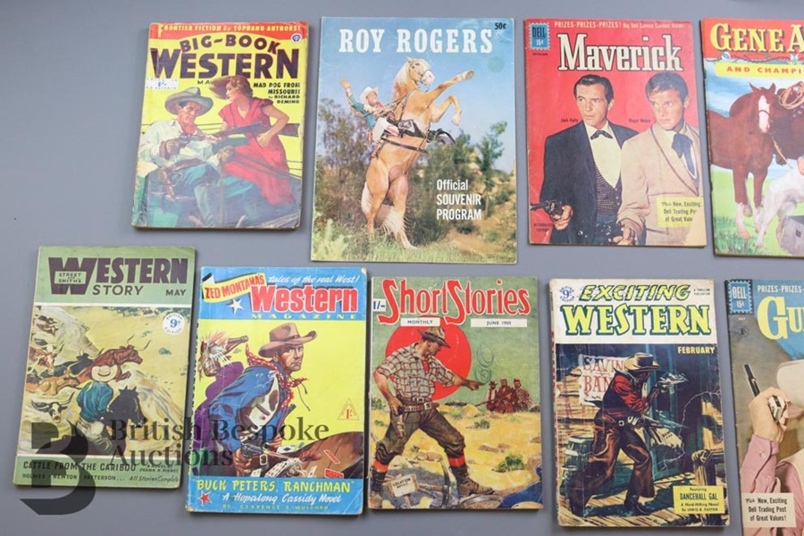 Approx. 65 Vintage Western Comic Books from 1940 and 1950 - Image 2 of 8