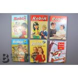 Over 50 Robin Comics and Annuals from 1950s and 1960s