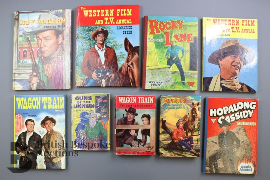 Approx. 50 Vintage Cowboy Books and Annuals - Image 2 of 5