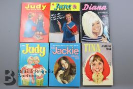 Over 130 Girls Annuals from 1960 Onwards
