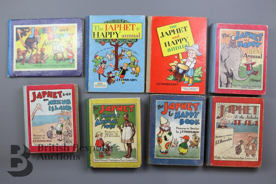 19 Japhet and Happy Annuals and Books - Image 2 of 5