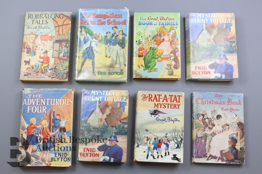 Approx. 100 Enid Blyton Reprints in Dust Wrappers