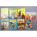 32 Blue Peter, 23 Look-In Television and 6 Magpie Annuals