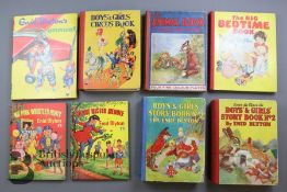 Over 100 Vintage Enid Blyton Large Format Books and Annuals