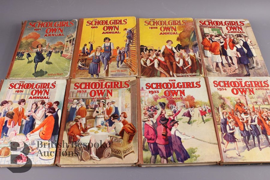15 Schoolgirls' Own Annuals 1924-1941