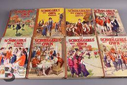 15 Schoolgirls' Own Annuals 1924-1941