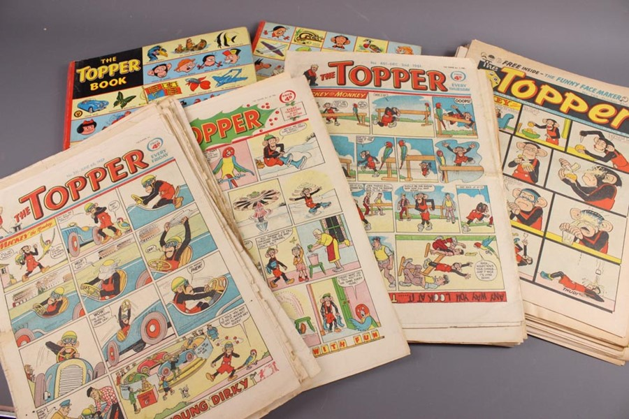 25 The Topper Book Annuals from 1955 Onwards and 36 The Topper Comics - Image 3 of 4