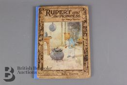 Rupert and The Princess By Mary Tourtel Published by Sampson Low 1925