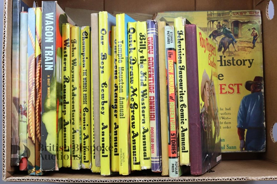 Approx. 50 Vintage Cowboy Books and Annuals - Image 3 of 5