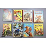 Approx. 56 Vintage Cowboy Books and Annuals