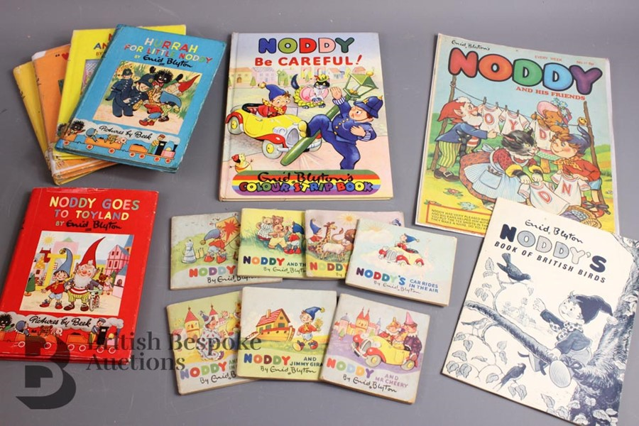 100 Vintage Noddy Series and Books by Enid Blyton