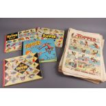 25 The Topper Book Annuals from 1955 Onwards and 36 The Topper Comics