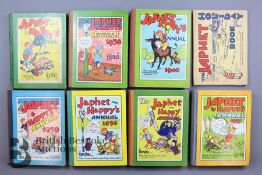 19 Japhet and Happy Annuals and Books