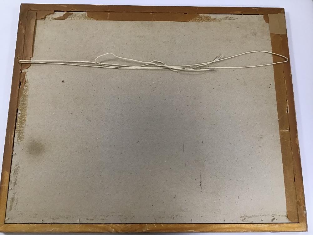 Lot 512 - REGINALD DANIEL SHERRIN (1891-1971) ENGLAND, A FRAMED AND GLAZED GOUACHE OF A DARTMOOR SCENE, 68CM