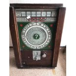 AN ANTIQUE LOVE MACHINE FROM BLACKPOOL PIER, MADE BY ZODIAC MODEL B, MANUFACTURED IN BRITAIN