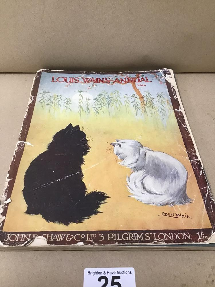 A SCARCE LOUIS WAIN ANNUAL FOR 1914, BINDING AF - Image 2 of 5