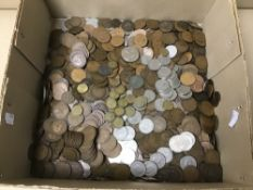 A LARGE QUANTITY OF CIRCULATED COINAGE, MOSTLY BRITISH PRE DECIMAL