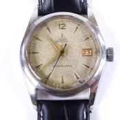 TUDOR - a Vintage stainless steel Oysterdate shock-resisting mechanical wristwatch, ref. 7919, circa