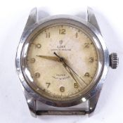 TUDOR - a Vintage stainless steel Oyster Prince Rotor self-winding automatic wristwatch head, ref.