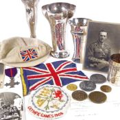*ADDITION TO LOT* An athletics archive of medals, trophies and ephemera relating to the career of